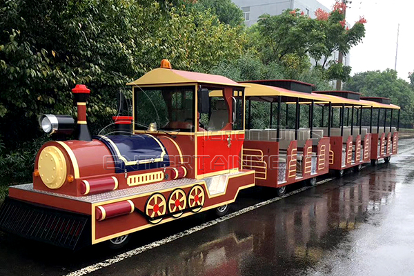 Amusement Park Railroad Small Track Train Rides for Sale