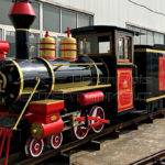 Vintage Amusement Park Trains