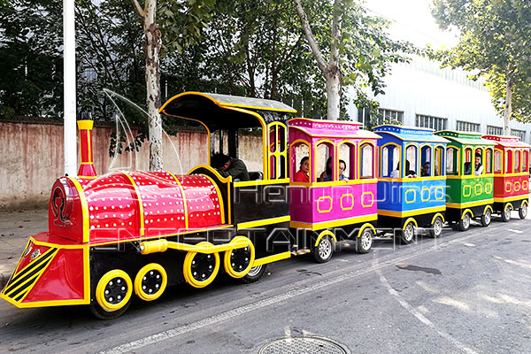 Antique Trackless Mall Trains for Kids