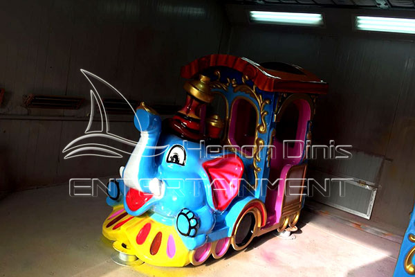 Beautiful Elephant Trackless Train Rides for Sale