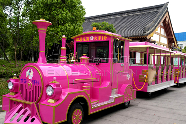 Big Trackless Electric Tourist Train Rides for Sale