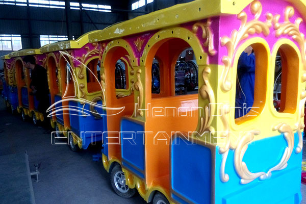 Dinis Amusement Train Carriage Interior