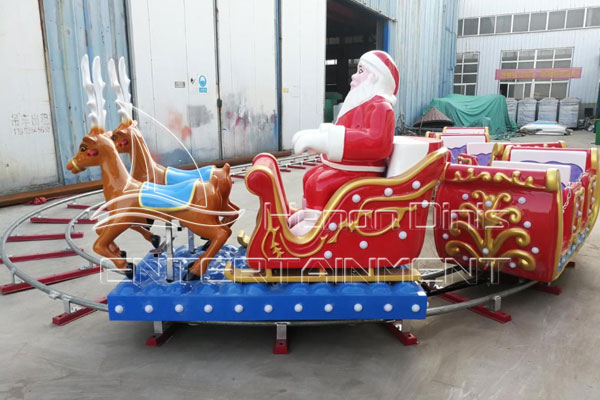 Dinis Electric Christmas Train Track Rides for Sale