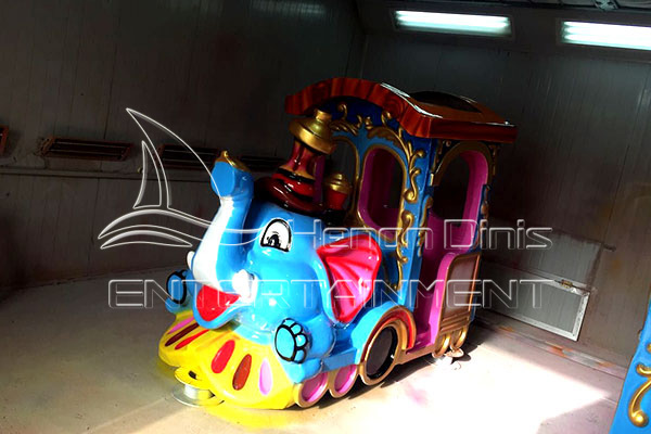 Dinis Elephant Kids Outdoor Train
