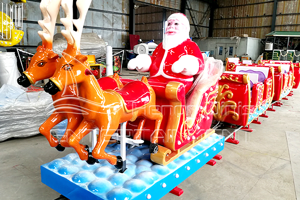 Dinis Open Carriage Electric Christmas Train for Sale