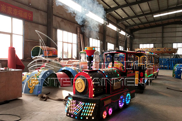 Electric Trackless Mall Train for Sale