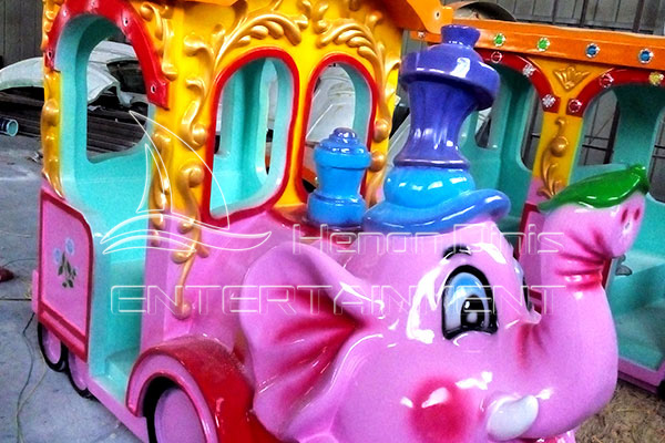 Elephant Trackless Mall Train Rides for Sale in Dinis