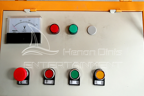 Garden Track Train Rides Electric Control System