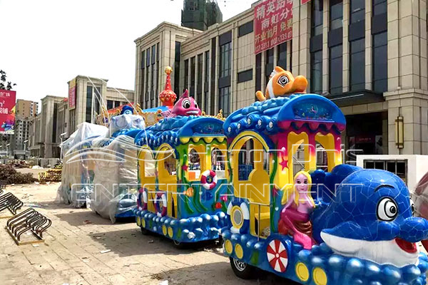 Luxury Pharaoh Kid Electric Trackless Train for Sale in Dinis