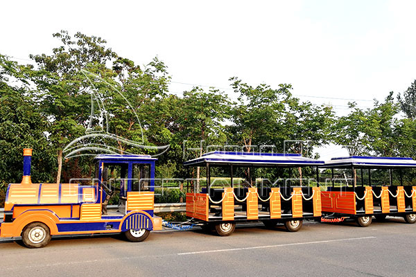 Luxury Trackless Kids Mall Train Rides for Sale