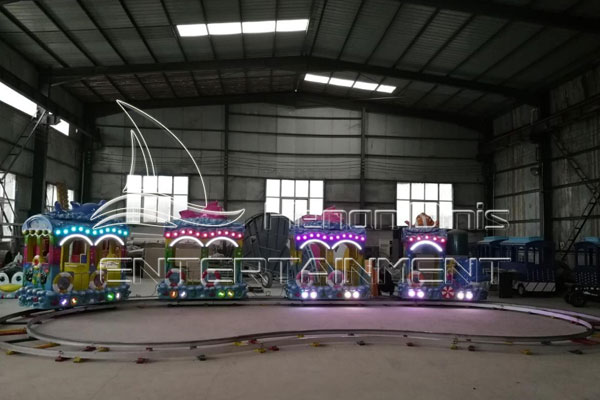 Ocean Electric Track Train Ride for Kid Party