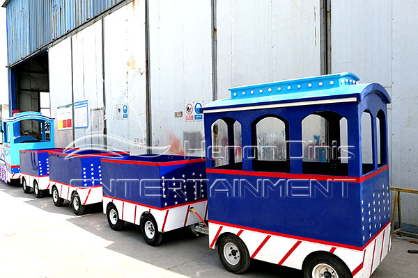 Ocean Trackless Kiddie Train Is Available in Dinis