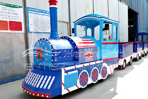 Ocean Trackless Park Train Ride for Sale