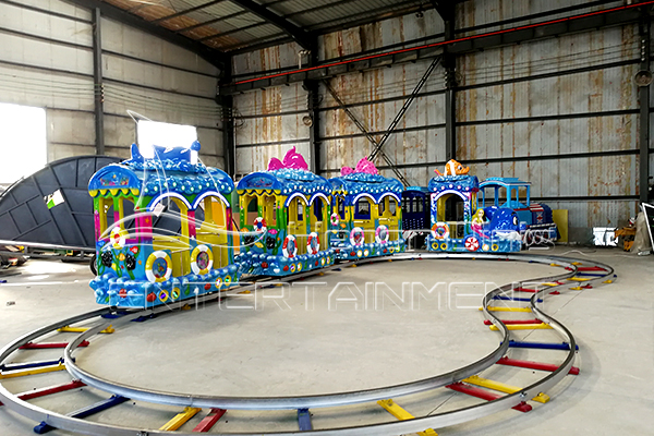 Ocean Trackless Train Ride on for Kids