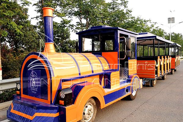 Trackless Train Rides Is Available in Dinis