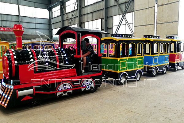 Vintage Trackless Mall Train Rides for Sale in Dinis Factory